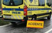 Homem fica ferido após despiste em Vila Boim