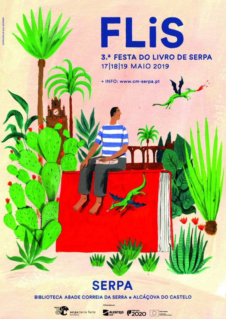 3.ª Festa do Livro de Serpa de 17 a 19 de maio