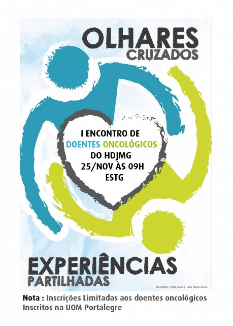 """""""Olhares Cruzados"""" dos Doentes Oncológicos de Portalegre"""
