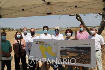 Veja aqui a visita da Secretária de Estado do Turismo às obras da Praia Fluvial de Alqueva (c/vídeo)