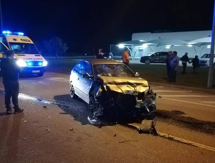 Violenta colisão rodoviária faz um ferido à entrada de Reguengos de Monsaraz (c/fotos)