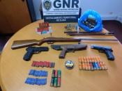 Campo Maior: Homem de 43 anos detido pela GNR por posse de arma proibida