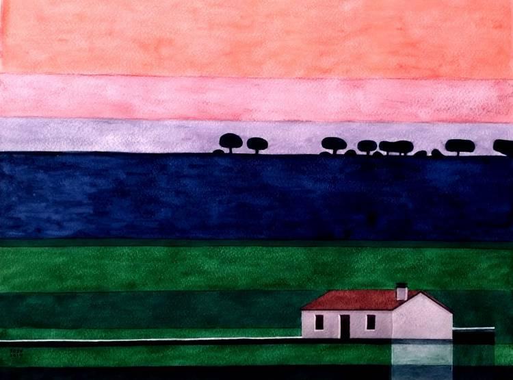 António Ervedeiro apresenta exposição de pintura em Monsaraz