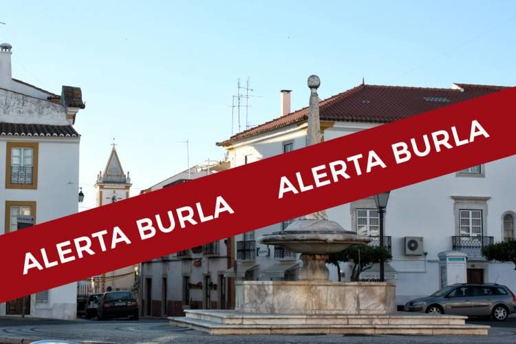 Burlões de ouro atacam em Vila Viçosa
