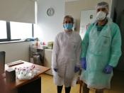 Município de Nisa, testa com recurso a profissionais de saúde ao serviço da SCM de Amieira do Tejo.
