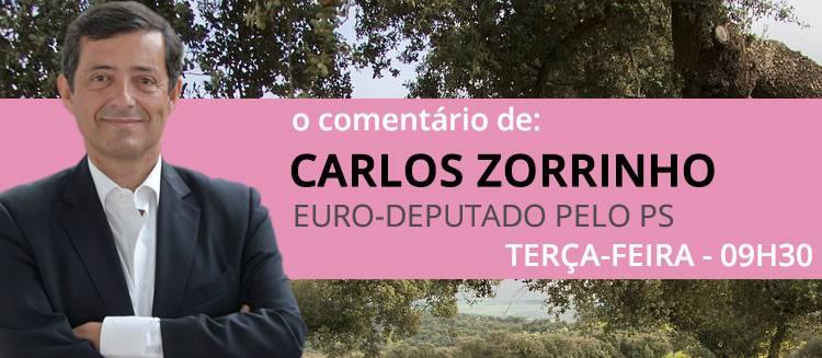 """""""É fundamental não deixarmos atrasar mais a construção do novo aeroporto"""", diz Carlos Zorrinho (c/som)"""