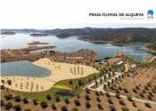 Praia Fluvial de Alqueva:trabalhos decorrem a bom ritmo! Uma realidade já este verão (c/vídeo)