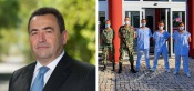 """José Calixto agradece ás Forças Armadas """"que nos ajudam a transformar cada dia que passa em sinais de esperança"""""""