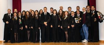 Tomada de posse dos novos órgãos sociais da Associação Académica do Instituto Politécnico de Portalegre