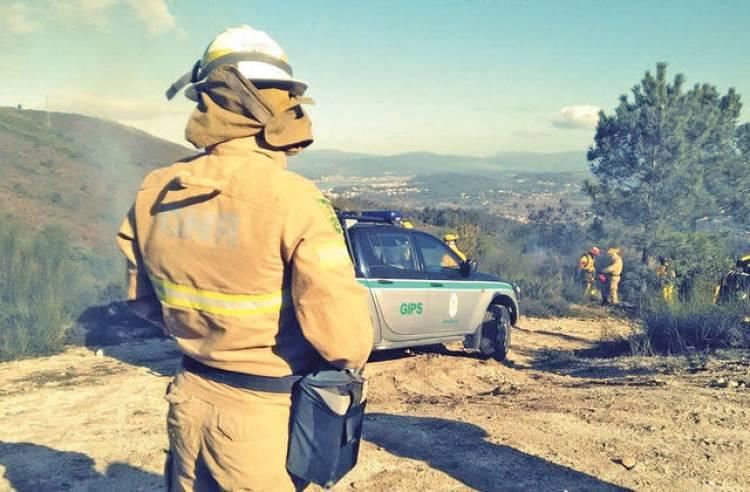 GNR registou 5 incêndios agrícolas esta terça-feira no distrito de Évora (c/som)