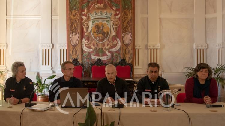 """""""Todas as entidades envolvidas na proteção civil têm um papel importante"""", diz Comandante do CDOS de Évora (c/som e fotos)"""
