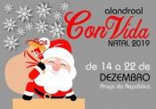 """Alandroal """"ConVida ao Natal"""" com pista de gelo, feira de natal e passeios de charrete"""