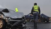 GNR registou 13 acidentes que provocaram 5 feridos, nas estradas do distrito de Évora, durante o fim de semana (c/som)