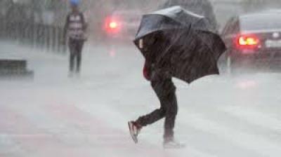 Proteção Civil deixa aviso de chuva persistente que se mantêm até segunda-feira