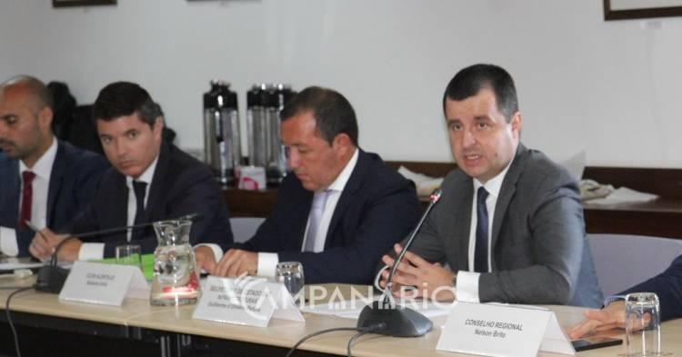 Ferrovia e rodovia no Alentejo são linhas prioritárias do PNI 2030, diz secretário de Estado das Infraestruturas (c/som e fotos)