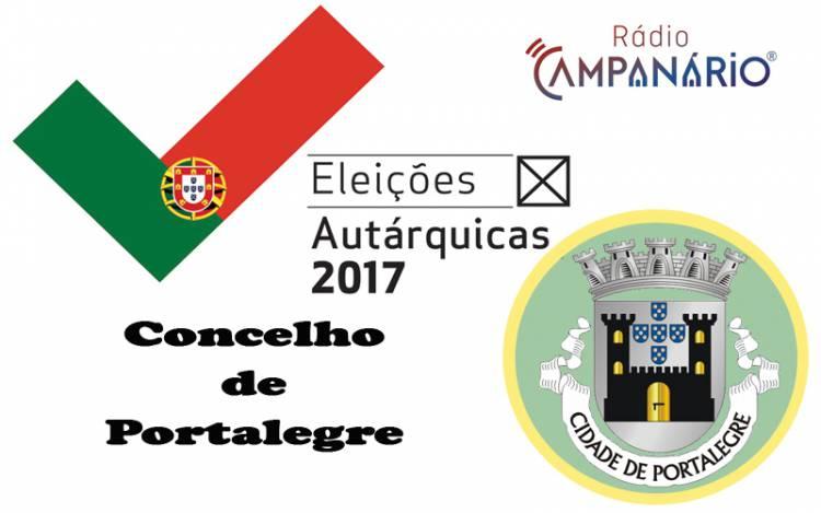Autárquicas 2017: Os resultados eleitorais do concelho de Portalegre (c/dados)