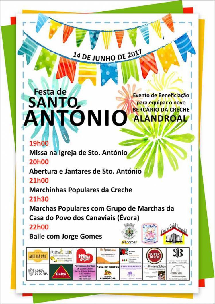 Alandroal festeja o Santo António esta quarta-feira