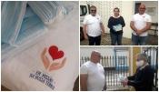 """Grupo de Voluntários """"Em Missão na Nossa Terra"""" entrega máscaras a instituições do concelho de Reguengos de Monsaraz"""