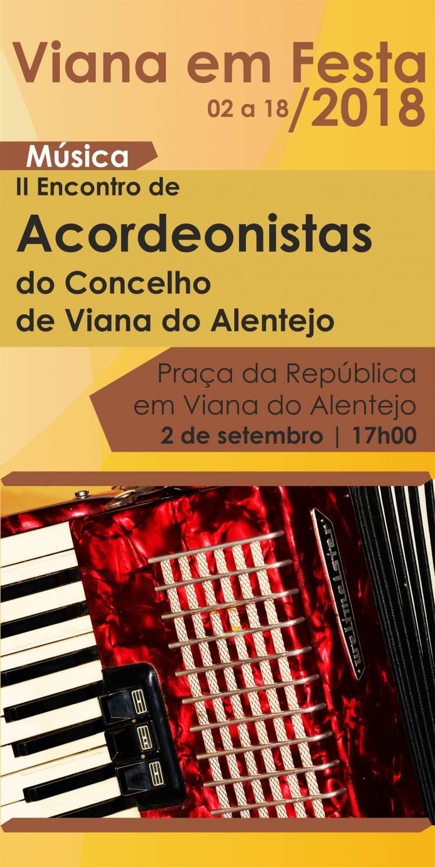 Viana do Alentejo recebe encontro de acordeonistas