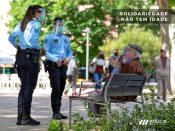 """PSP efetuaram 1142 contactos na Operação """"Solidariedade Não Tem Idade 2020"""""""