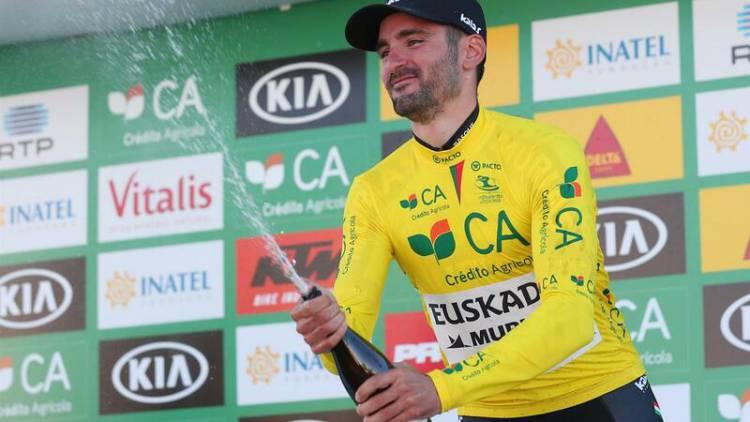 Enrique Sanz vence segunda etapa da Volta ao Alentejo e mantém camisola amarela