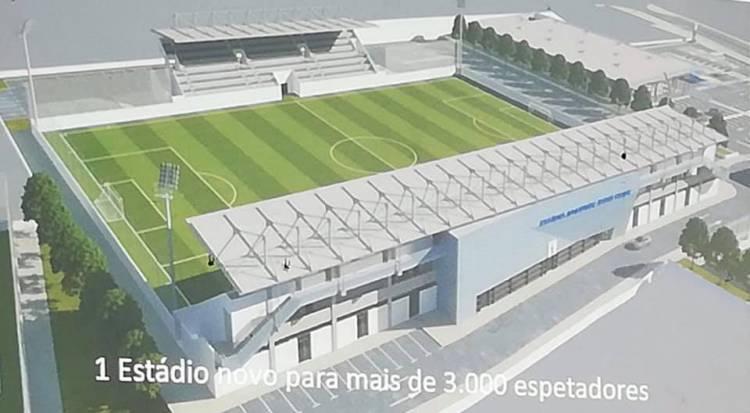 Juventude de Évora negoceia novo estádio com 3000 lugares sentados