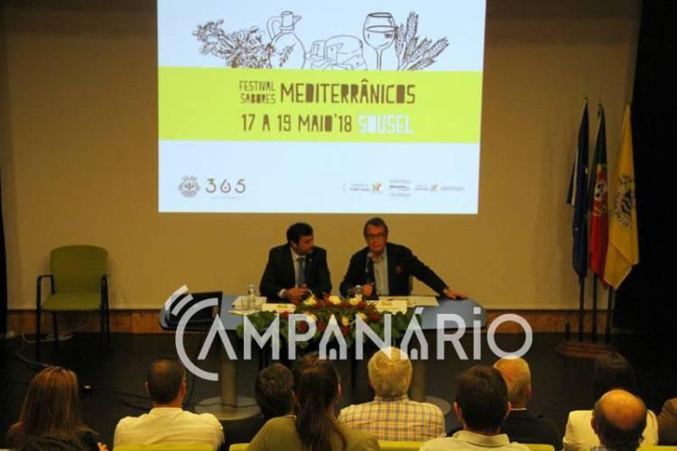 """Festival dos Sabores Mediterrânicos de Sousel mostra o """"que de bom sabemos fazer"""", diz autarca do município na inauguração (c/som e fotos)"""