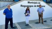 Margarida Carreiro, ginasta Vice-Campeã da Europa homenageada em Reguengos de Monsaraz