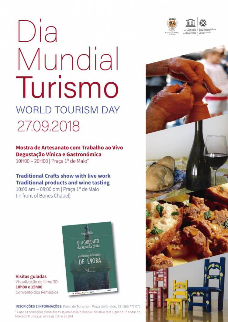 Évora comemora Dia Mundial do Turismo
