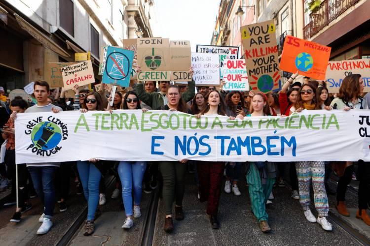 Estudantes do Litoral Alentejano em Greve Mundial Pelo Clima