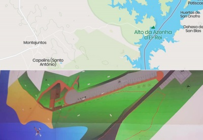 """Alandroal: """"Já foi lançado o concurso público e esperamos que a obra da nova praia Fluvial esteja concluída no início da época balnear em 2021"""", diz presidente da Câmara (C/SOM)"""