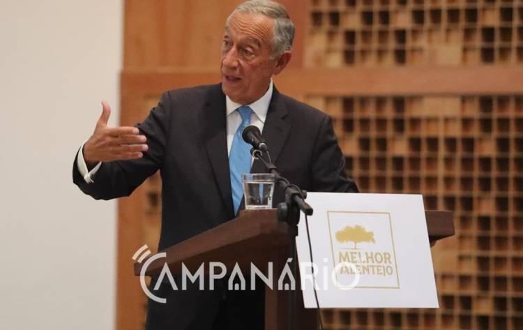 """Campanário TV: """"O papel da Sociedade Civil é fundamental"""" para um Melhor Alentejo, diz Presidente da República"""