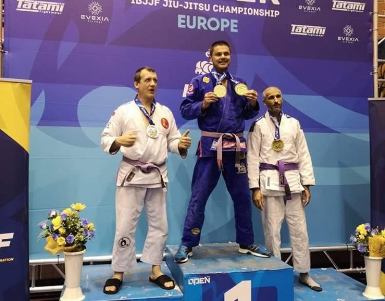 Alentejano sagra-se campeão europeu em Jiujitsu