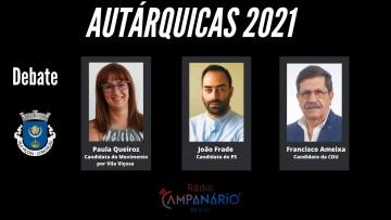 Autárquicas 2021: Debate sobre a Freguesia de Nsa Senhora da Conceição e São Bartolomeu(Vila Viçosa), hoje às 18h