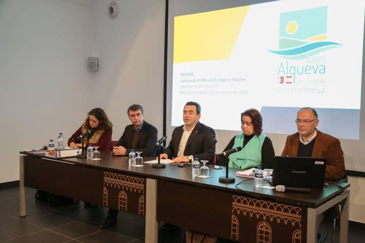 Municípios da Ass. Transfronteiriça Lago Alqueva preparam candidatura aos Programas de Valorização Económica de Recursos Endógenos