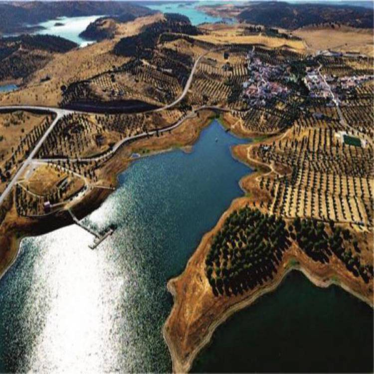 Vai nascer a terceira praia fluvial do grande lago de Alqueva, a praia da Amieira