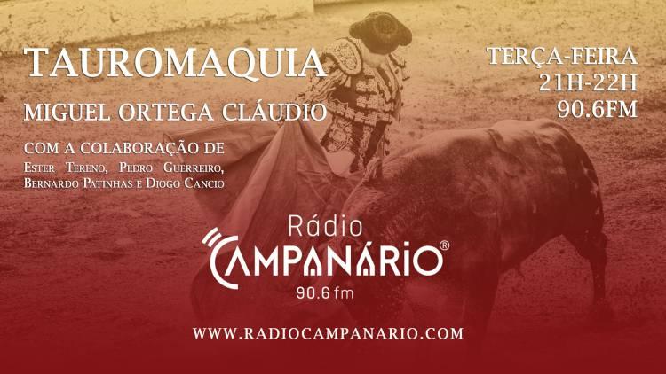 """Cartel para o Festival da Rádio Campanário apresentado ontem no programa """"de Caras (c/som)"""