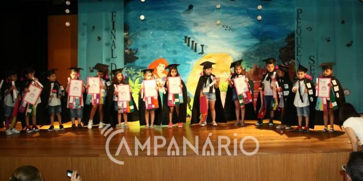 Ano letivo 2016/17 encerra na Santa Casa da Misericórdia de Borba com festa para crianças, pais e educadores (c/som e fotos)