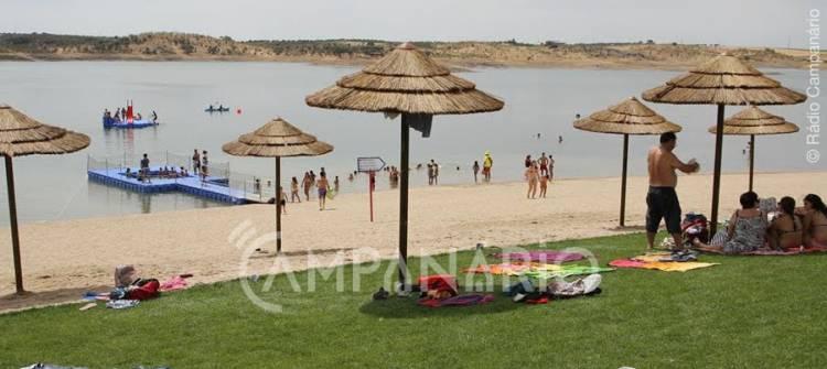 """Praia de Mourão terá """"fibra ótica, eletricidade e água"""" canalizada nesta época balnear, avança vice-presidente (c/som)"""