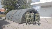 COVID-19: Exército Português disponibiliza 320 camas e 10 tendas no Alentejo