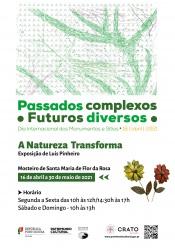 """Crato: Exposição """"A Natureza transforma"""" em Flor da Rosa assinala dia Internacional dos Monumentos e Sítios"""