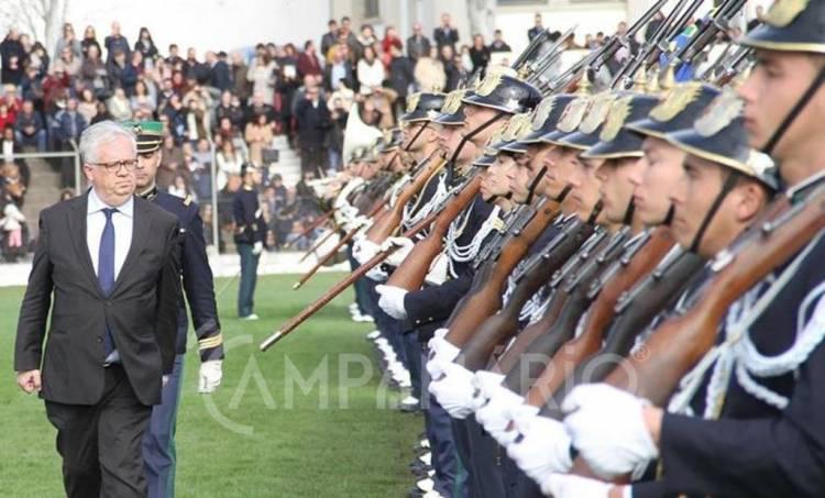 Portalegre: 595 novos guardas concluíram curso de formação da GNR (c/som e fotos)