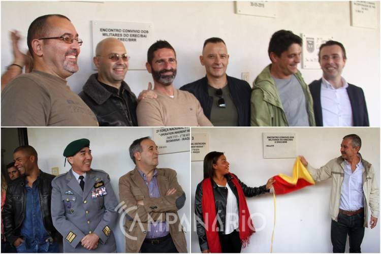 """Encontro de paraquedistas no RC3 de Estremoz recorda missão no Kosovo """"lidámos directamente com o pior do ser humano"""" relembra antigo militar (c/som e fotos)"""