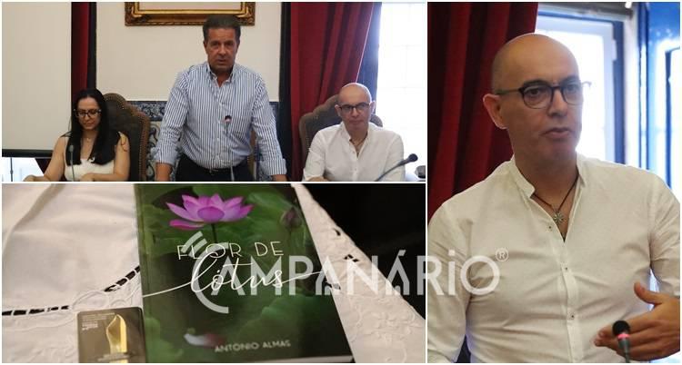 """""""O amor não se desvanece com a partida física"""", diz António Almas na apresentação da obra Flor de Lótus (c/som e fotos)"""