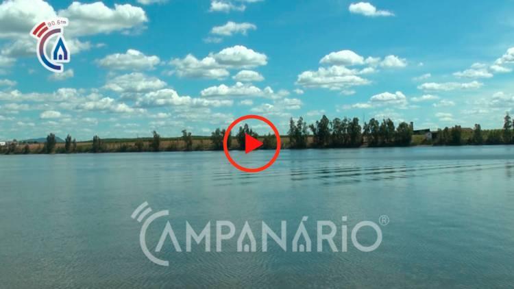 """""""Águas do Alqueva continuam sem grandes alterações, mas os peixes do rio encontram-se com menos qualidade"""", afirmam pescadores em Juromenha (c/vídeo)"""