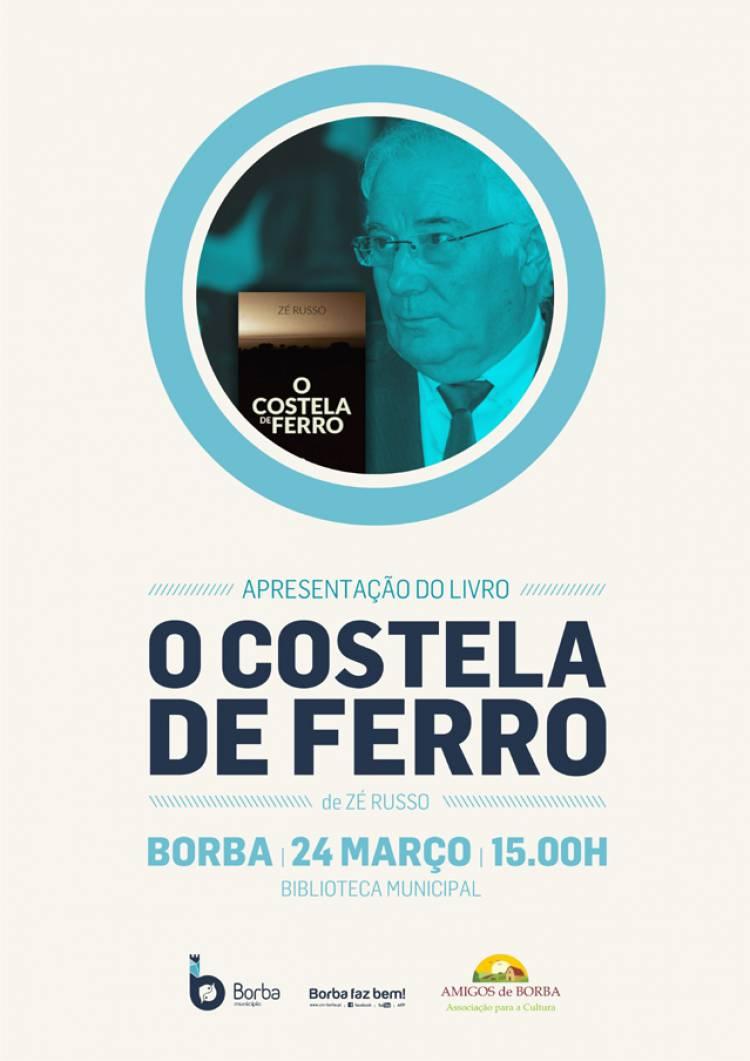 """Zé Russo apresenta livro """"O Costela de Ferro"""" em Borba"""