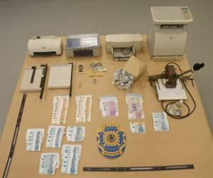 PJ detém 3 indivíduos e termina esquema de falsificação de notas em Elvas