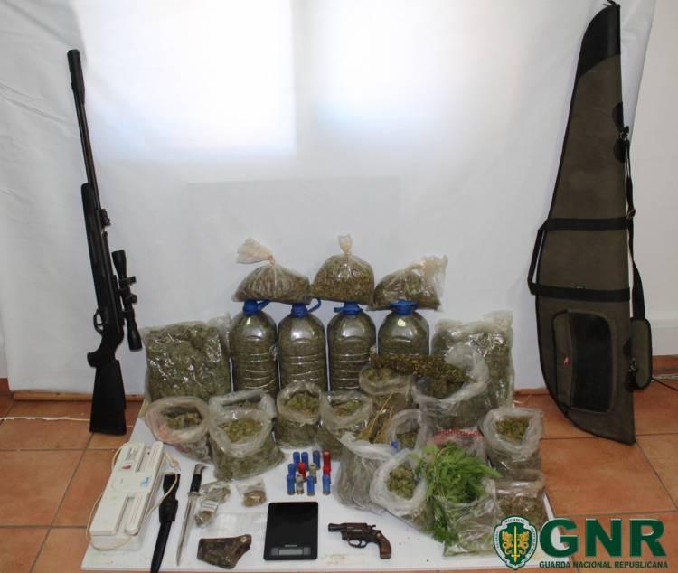 GNR detém homem e apreende mais de 2 mil doses de droga no Baixo Alentejo