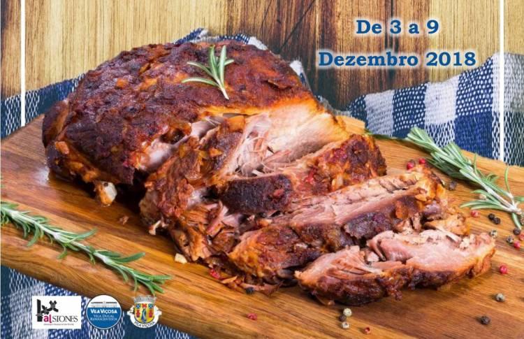 Vila Viçosa dedica semana ao porco preto entre 3 e 9 de dezembro