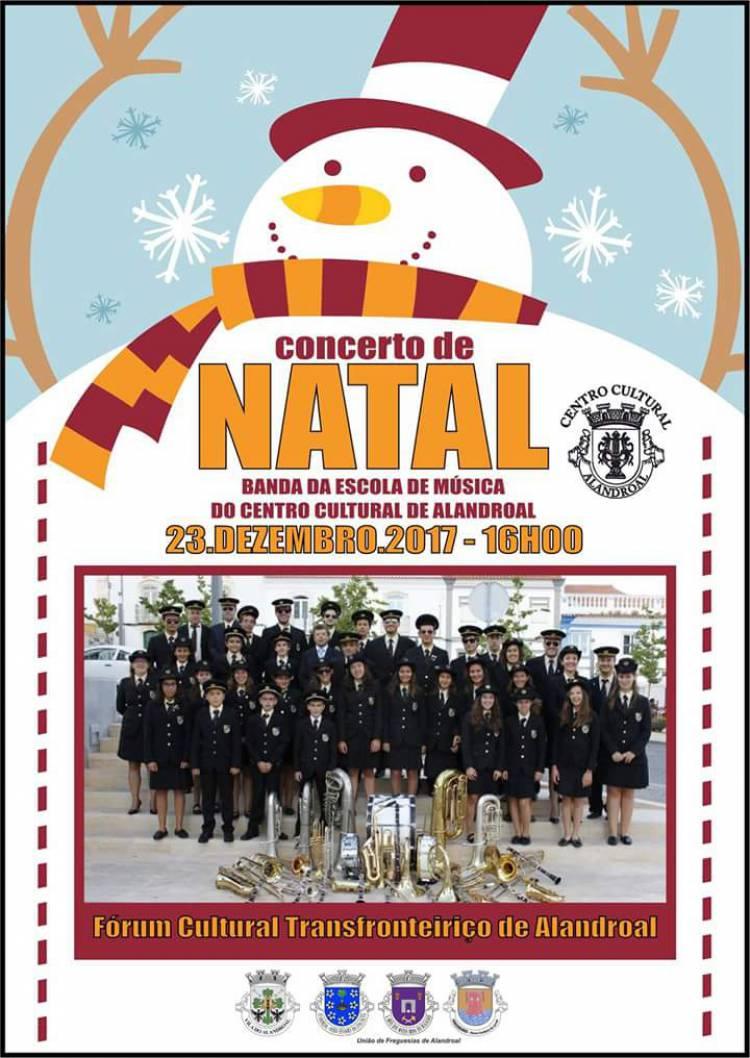Alandroal: Banda Filarmónica promove tradicional concerto de Natal